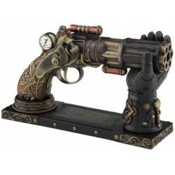 Steampunk pistole se stojanem