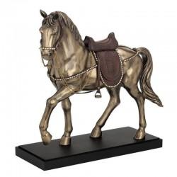 Kůň na podstavci soška 58 cm