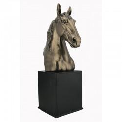 Hlava koně soška