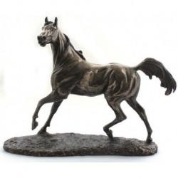 Běžící kůň soška