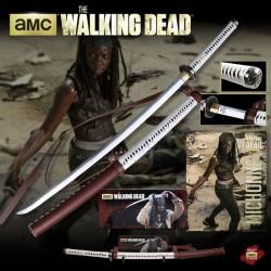 Katana Meč Michonne z Walking Dead Limitovaná Edice