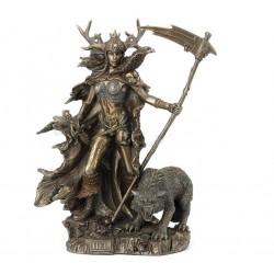 Bohyně Hel soška