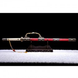 Čínský Meč Jian-Dynastie Tchang
