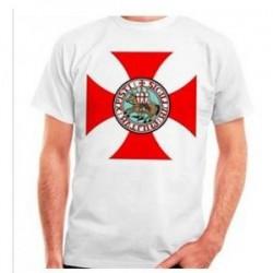 Tričko Templáři Bílé