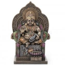 Kubera-indický bůh bohatství soška