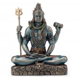 Šiva soška meditující bůh