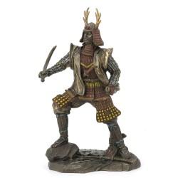 Soška Samuraj a Meč