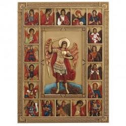 Ikona sv. Michael barevná
