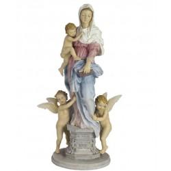 Panna Marie soška barevná