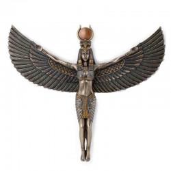 Eset egyptská bohyně soška