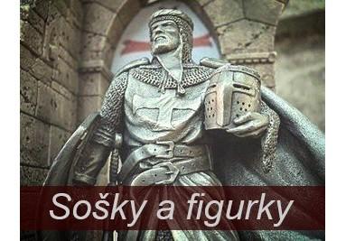 Sošky: fantasy sošky, mytologie, antika, historie, sošky rytíři a válečníci
